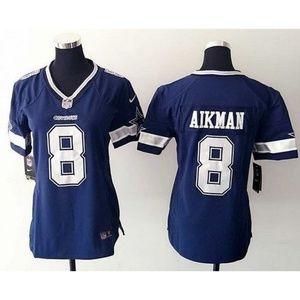 Women Dallas Cowboys Troy Aikman Jersey (1)